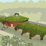 Straw Bale Organic Farm House