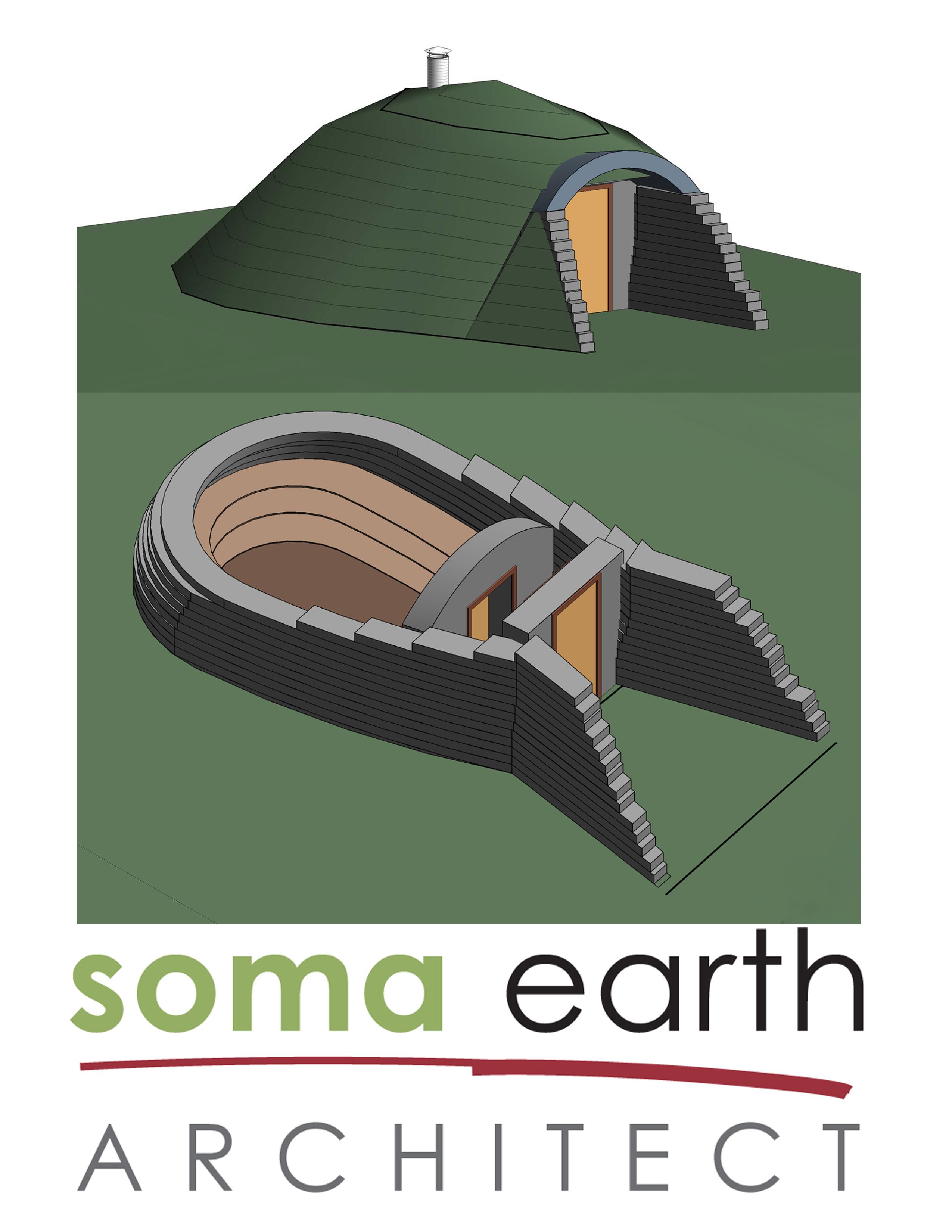 earth bag with logo