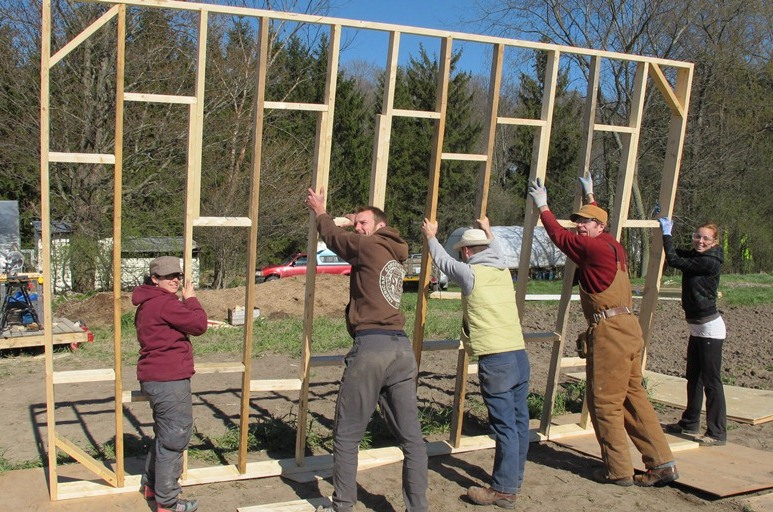 group wall cropped side edges